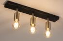 Plafondlamp 74481: landelijk, rustiek, modern, eigentijds klassiek #3