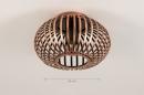 Plafondlamp 74495: landelijk, rustiek, modern, retro #1