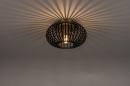 Plafondlamp 74496: modern, retro, eigentijds klassiek, metaal #2