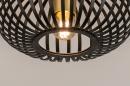 Plafondlamp 74496: modern, retro, eigentijds klassiek, metaal #3