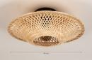 Plafondlamp 74517: landelijk, rustiek, modern, retro #12