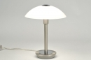 table_lamp-84187-classical-contemporary_classical-steel_gray-glass-frosted_glass-steel_stainless_steel-round