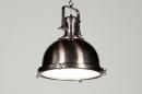 Pendelleuchte-87310-Klassisch-Industrielook-Metall-rund