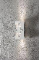 wandlamp 10056 sale modern wit mat aluminium metaal rechthoekig