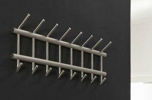 kapstok 10717 industrie look modern stoere lampen staal rvs metaal staalgrijs