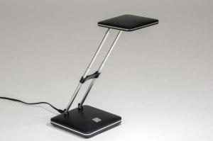 tafellamp-10862-modern-zwart-chroom