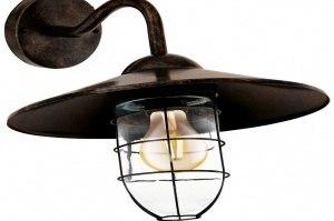 buitenlamp 11105 modern eigentijds klassiek metaal koper