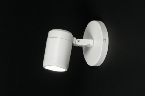 spotlight 11305 modern metal white matt
