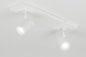 spotlight 11308 modern metal white matt