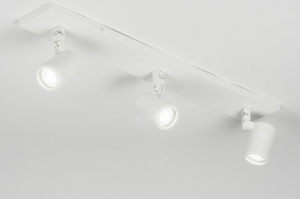 spotlight 11309 modern metal white matt oblong rectangular