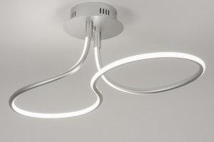 plafondlamp 11535 modern design aluminium aluminium