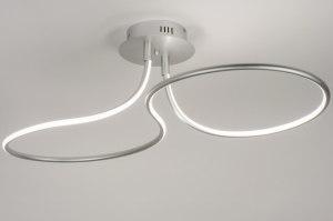 plafondlamp 11536 modern design aluminium aluminium
