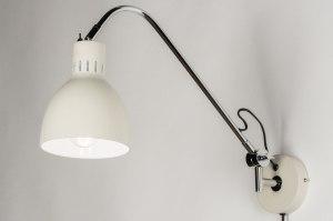 wandlamp-11541-modern-landelijk-rustiek-retro-chroom-creme-zwart-mat-metaal-staal_rvs