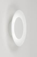 plafondlamp 11610 modern metaal wit rond