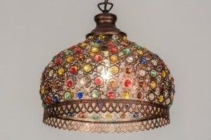 hanglamp-11737-modern-koper-meerkleurig-metaal-rond
