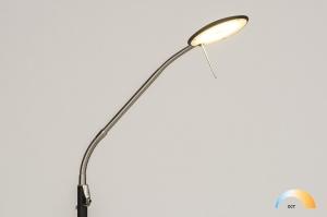vloerlamp 11969 landelijk rustiek modern klassiek eigentijds klassiek metaal zwart mat