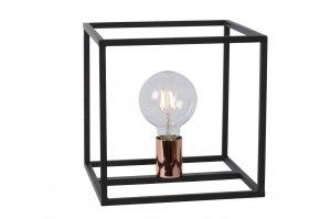 tafellamp-12064-modern-roodkoper-zwart-metaal-vierkant