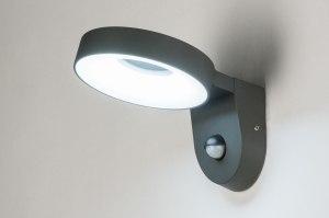 wandlamp-12094-modern-design-antraciet_donkergrijs-aluminium-metaal-rond