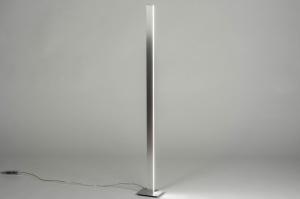 vloerlamp 12408 design modern aluminium metaal aluminium langwerpig rechthoekig