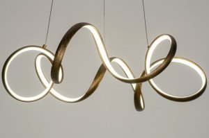 hanglamp 12780 modern eigentijds klassiek metaal roest bruin brons bruin