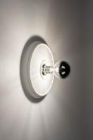 plafondlamp 13253 modern klassiek eigentijds klassiek keramiek wit mat rond