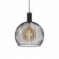 hanglamp 13652 sale modern metaal zwart mat rond