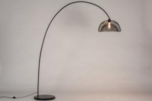 vloerlamp 13790 metaal zwart