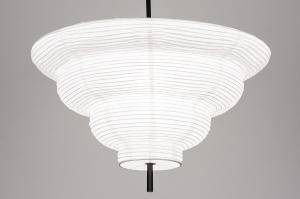 hanglamp 13977 design modern wit rond