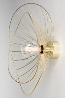 Deckenleuchte 13984 Design laendlich rustikal modern zeitgemaess klassisch Metall Matt Messing