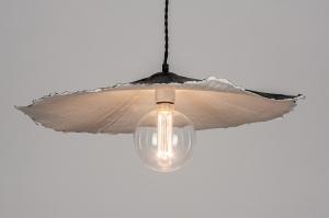 hanglamp 13985 design landelijk rustiek eigentijds klassiek zwart rond