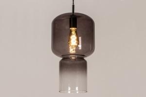 hanglamp 14001 design landelijk rustiek modern eigentijds klassiek glas