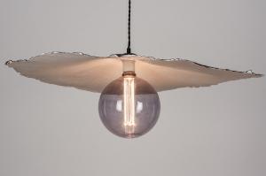 hanglamp 14005 design modern wit rond