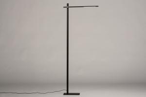 vloerlamp 14103 modern metaal zwart mat
