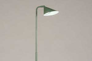 vloerlamp 14133 design modern retro metaal groen rond
