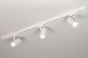 railspot 14171 modern metaal wit mat langwerpig