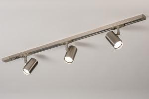 railspot 14283 modern staal rvs metaal staalgrijs rond langwerpig