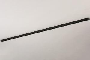 onderdeel 14341 metaal zwart mat rechthoekig