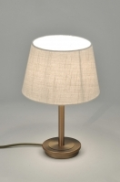 Table lamp 30094: modern, contemporary classical, rustic, rust