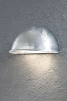 outdoor lamp 30269 modern galvanised steel metal zinc zinc round