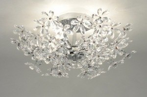 ceiling lamp 30366 rustic modern contemporary classical plastic round