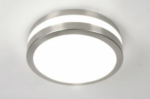 ceiling lamp 30388 modern plastic polycarbonate round