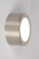 plafondlamp 30513 modern metaal staal rvs rond