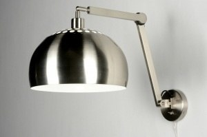 Wandleuchte 30518 modern Edelstahl Metall