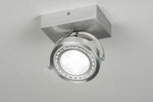 plafondlamp 30603 modern design aluminium rond
