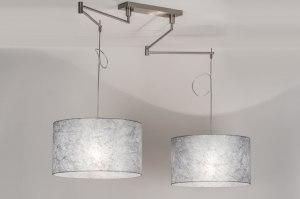 hanglamp-30673-modern-eigentijds_klassiek-landelijk-rustiek-zilvergrijs-staal_rvs-stof-langwerpig-rond