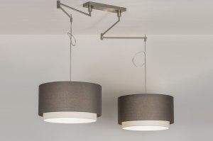 hanglamp-30674-modern-eigentijds_klassiek-landelijk-rustiek-grijs-taupe-staal_rvs-stof-langwerpig-rond