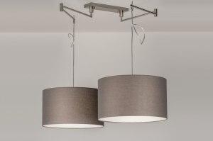 hanglamp-30679-modern-eigentijds_klassiek-landelijk-rustiek-grijs-taupe-staal_rvs-stof-langwerpig-rond
