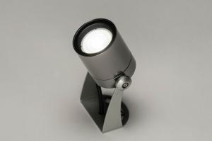 eclairage exterieur 30849 moderne aluminium acier aluminium rond