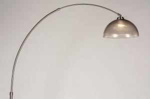 vloerlamp 31026 landelijk rustiek modern eigentijds klassiek staal rvs kunststof metaal zwart grijs bruin