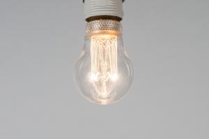 lichtbron 323 glas helder glas rond